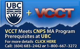 UBC & VCCT Counselling Psychology MEd or MA Program